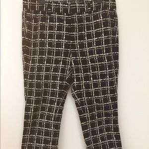 LOFT tailored pants with stretch